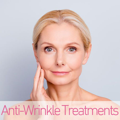 Anti-Wrinkle Treatments  Southampton, Porstmouth, Chichester, Winchester, Petersfield, Southsea, Hampshire