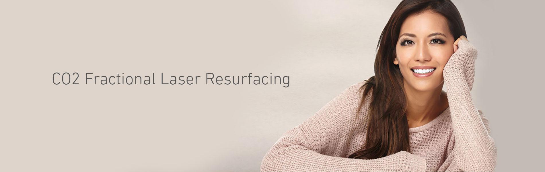 CO2 Fractional Laser Skin Resurfacing Southampton Hampshire Aesthetics Clinic