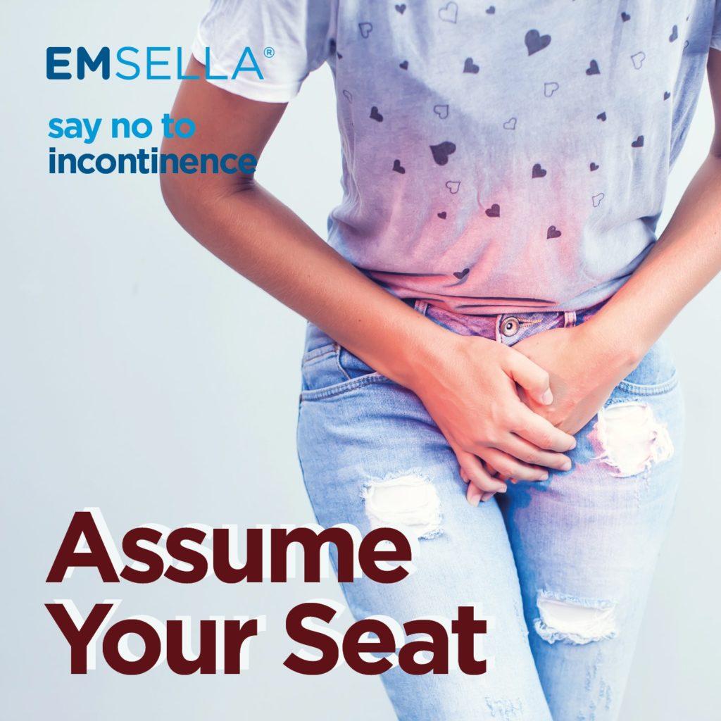 Treat Incontinence at CJA Aesthetics Clinics Hampshire with EMSELLA