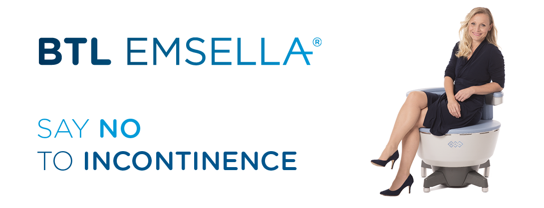 BTL Emsella Incontinence Treatments CJA Aesthetics Southampton Hampshire