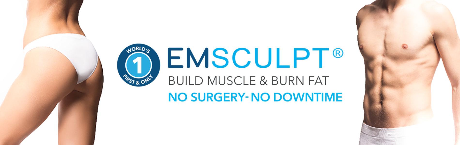 EMSCULPT Non-Surgical Body Sculpting Treatments at CJA Aesthetics Southampton & Winchester